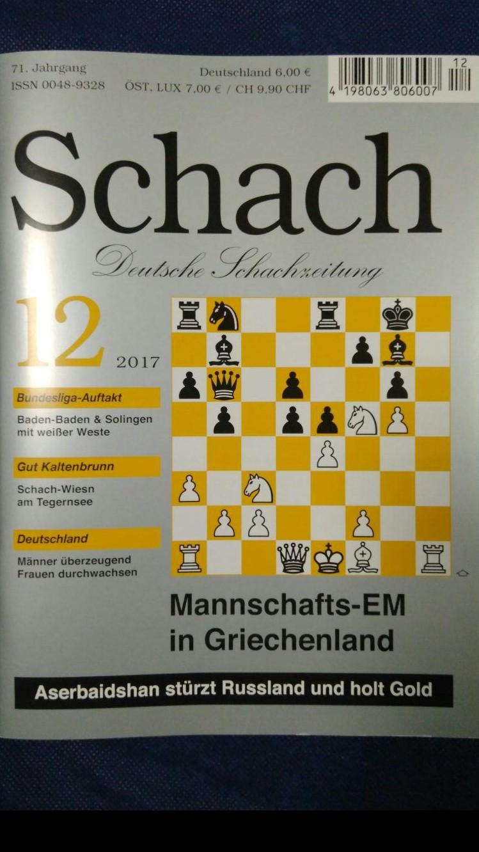 Schach (Deutsche Schachzeitung 12.2017)