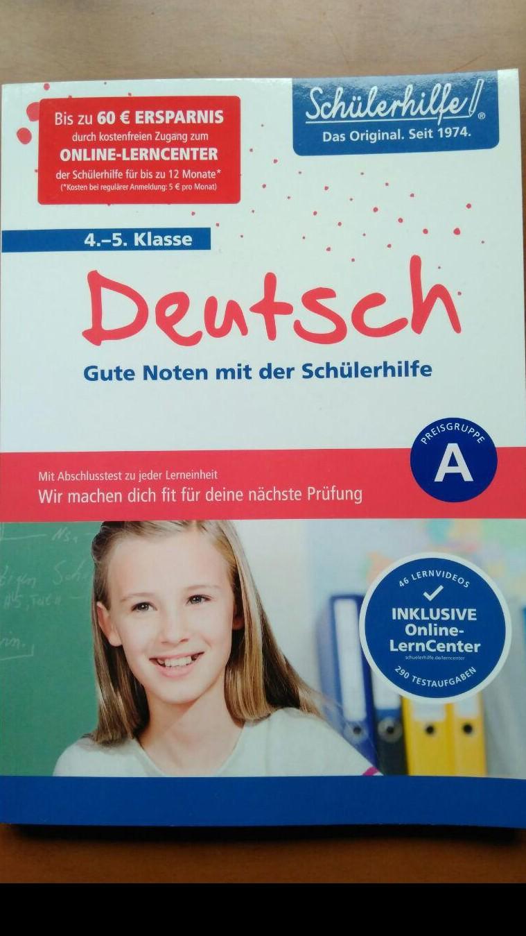 Deutsch (Gute Noten mit der Schülerhilfe 4-5 Klasse)