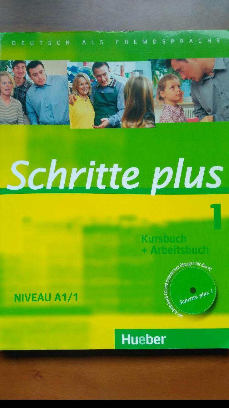 Schritte plus (Kursbuch niveau A1/1)