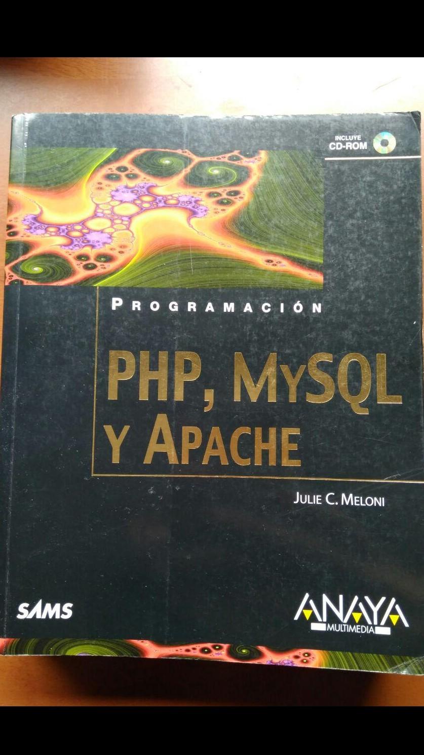 Programación PHP, MySQL y Apache